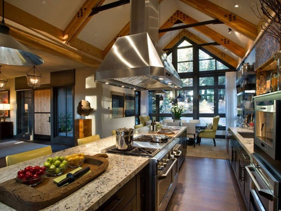 Out-Of-Town Cottage, Located In The Woods - Kitchen Island 2