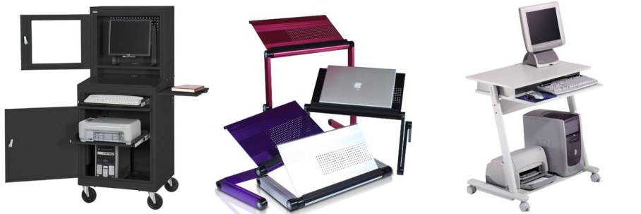 Portable computer stands