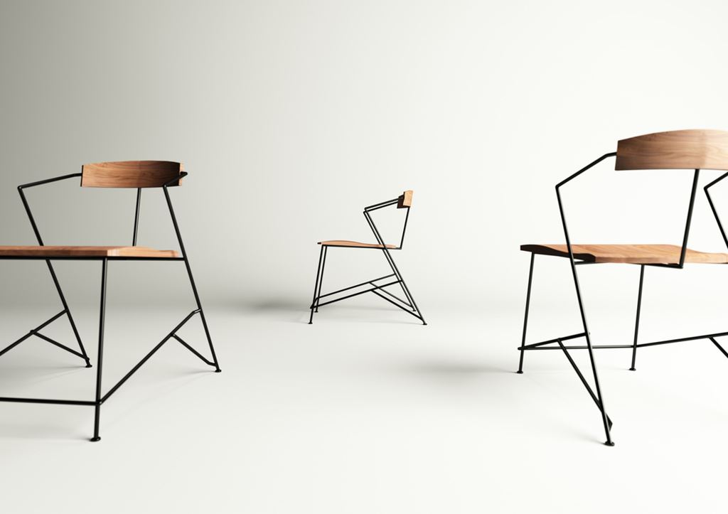 Power the minimalist and industrial chair for Industrial design chair