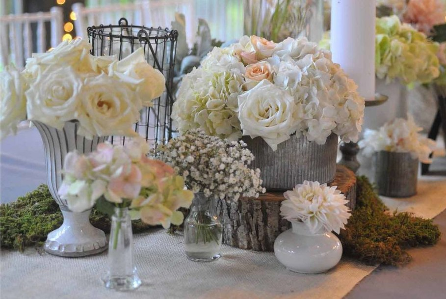 Rustic Vintage Wedding Decorations