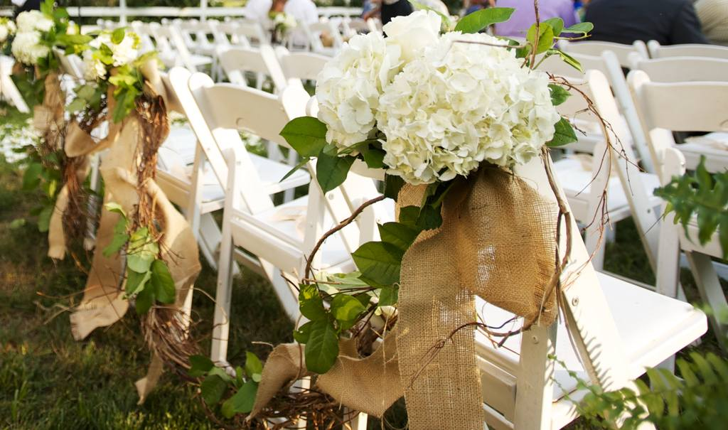 Rustic wedding decorations for fall