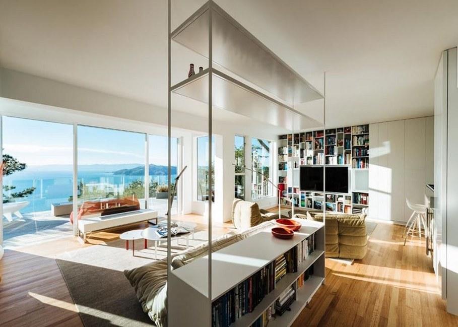 Sausalito residence - living room
