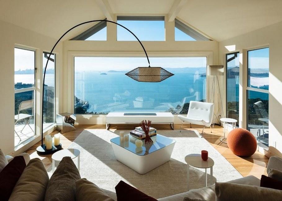 Sausalito residence - panoramic ocean views