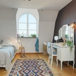 Scandinavian interior style of a charming apartment