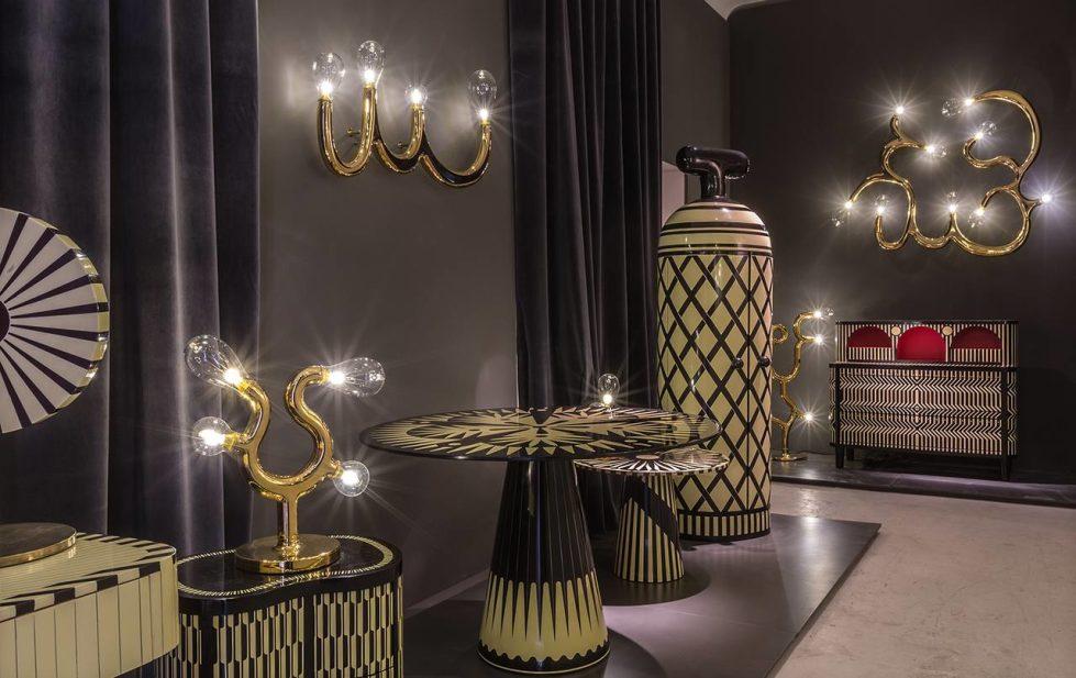 Scarlet Splendour Vanilla Noir furniture collection