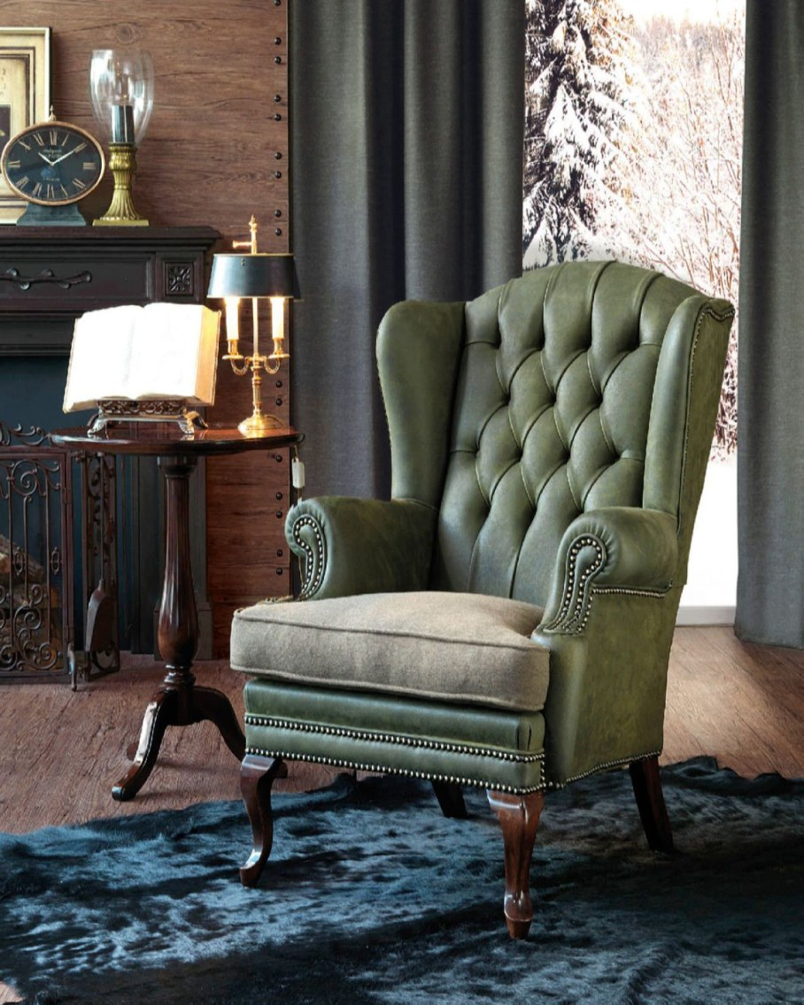 Sinatra Armchair - This model is designed in classic style