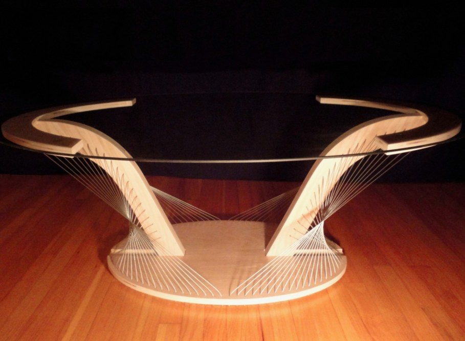 String Orchestra of furniture - coffee table 2