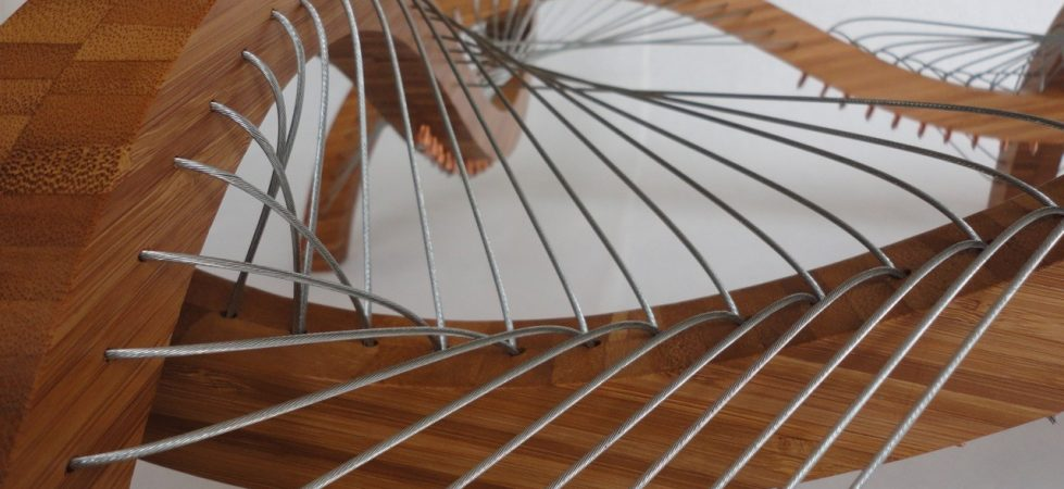 String orchestra furniture by Robby Cuthbert