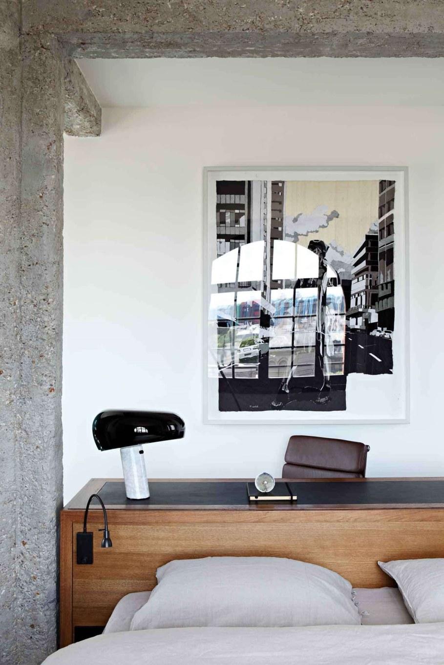 Sultry parisian loft - Bedroom