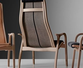 The classic Lamino Armchair
