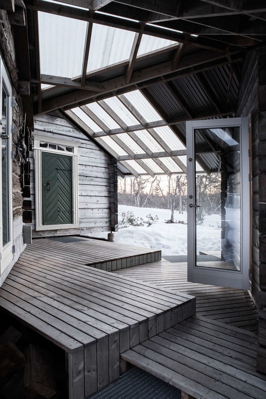 The wooden house in Norway - Cabin at Femunden 13