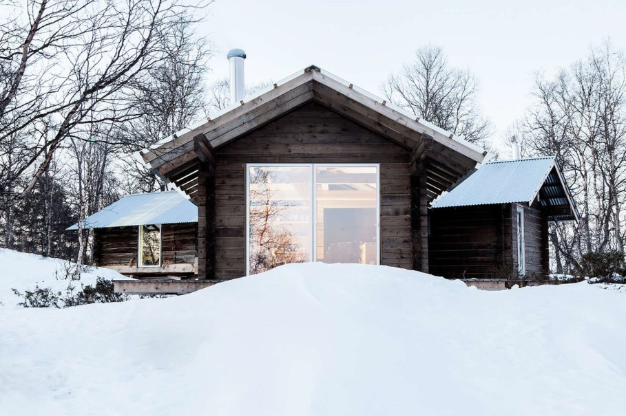The wooden house in Norway - Cabin at Femunden 4