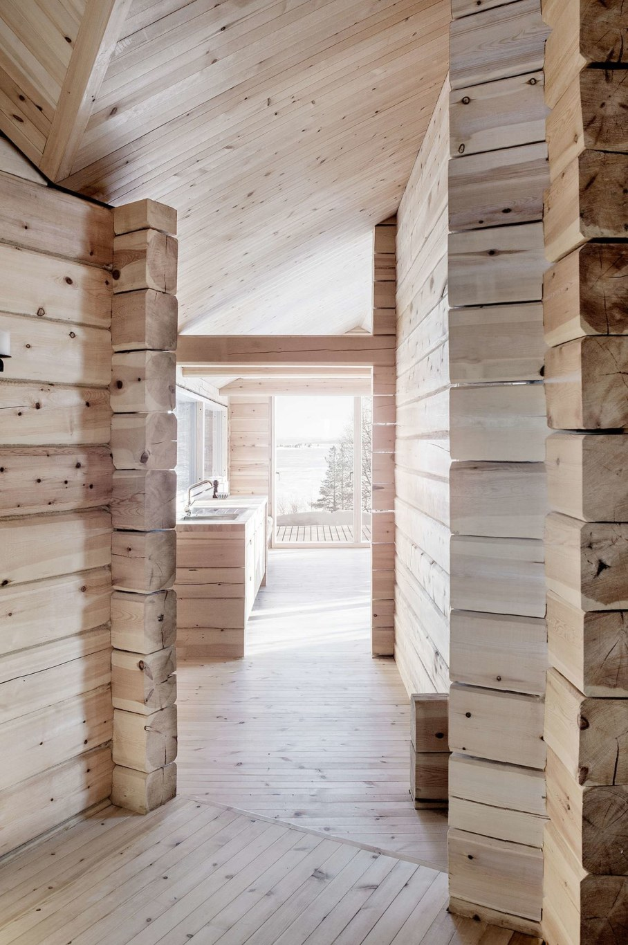 The wooden house in Norway - interior 4
