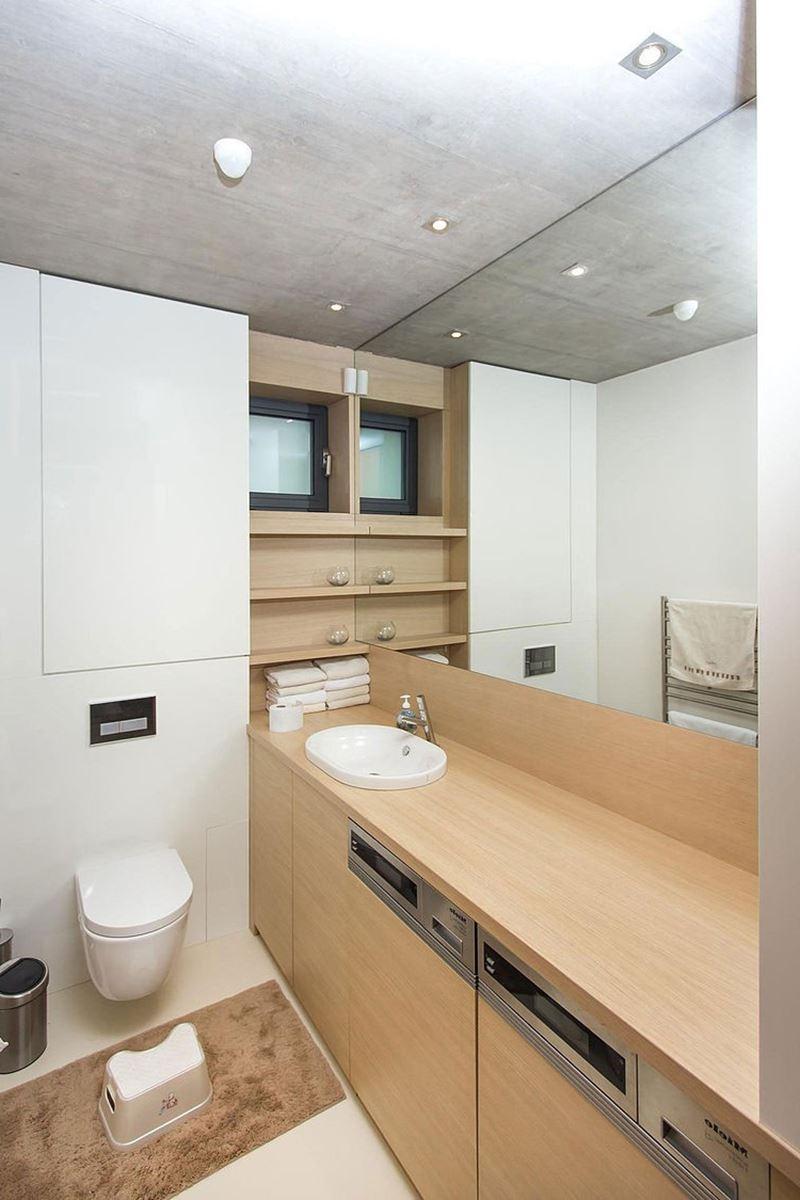 This modern three-story house - bathroom 1