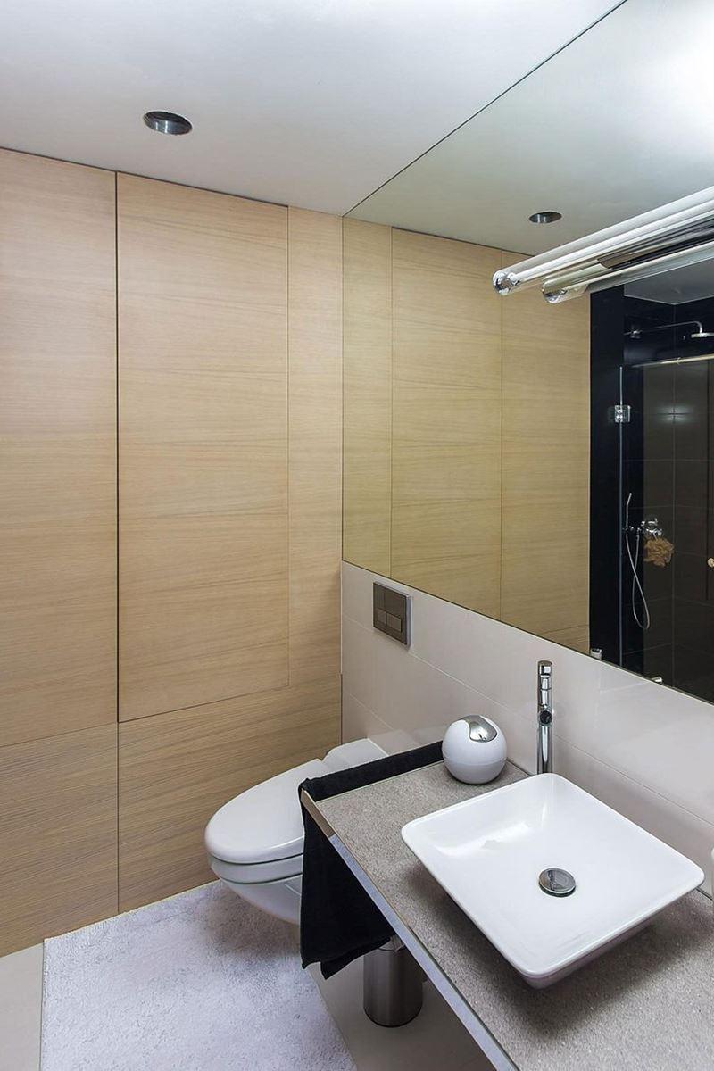 This modern three-story house - bathroom 2