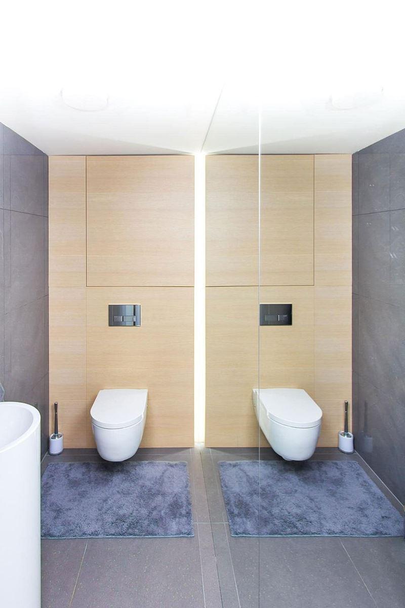 This modern three-story house - bathroom 3