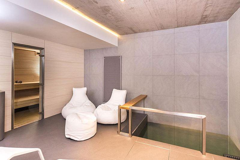 This modern three-story house - bathroom 4