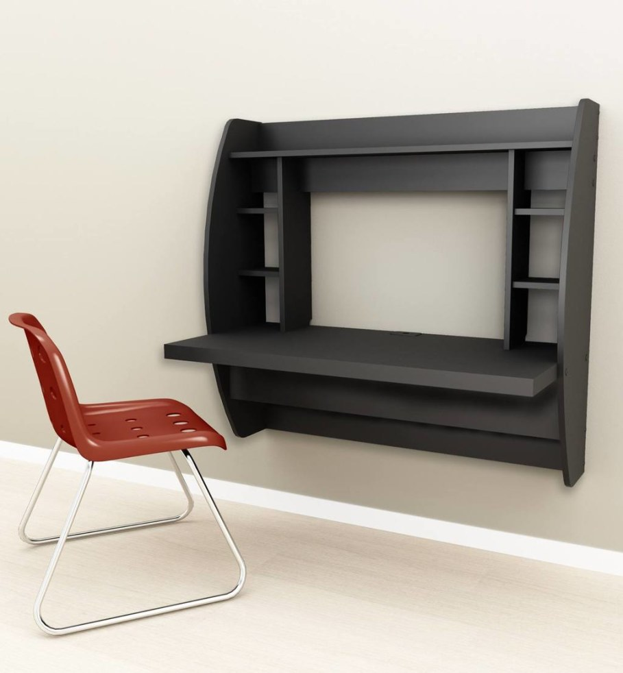 Wall-Mounted Laptop Desk - Attractive Ideas