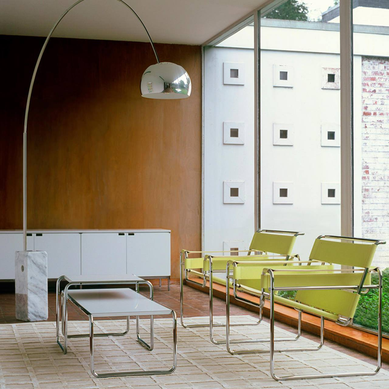 Fabulous Wassily armchair designed by Marcel Breuer Knoll