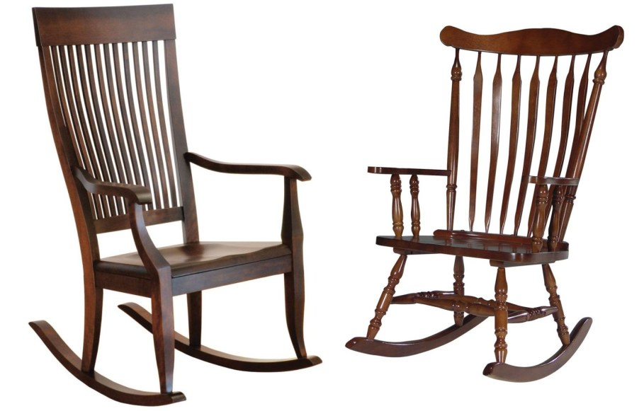 Wooden Classic Style Rocking Chair Bent Wood Furniture Was Launched Into Production At