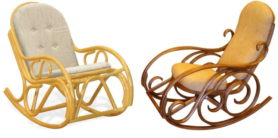 Wooden Classic Style Rocking-Chair
