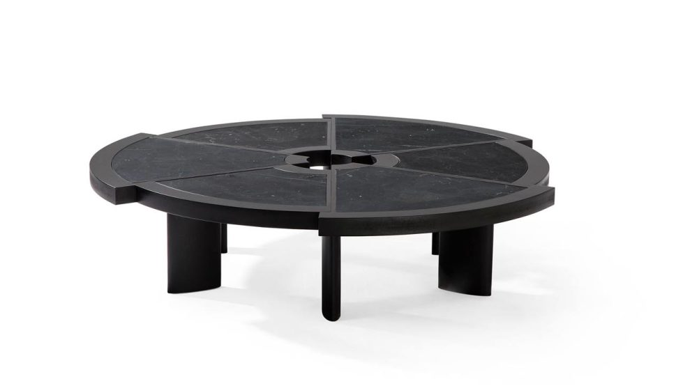 Reedition of Rio, The Coffee Table By Charlotte Perriand