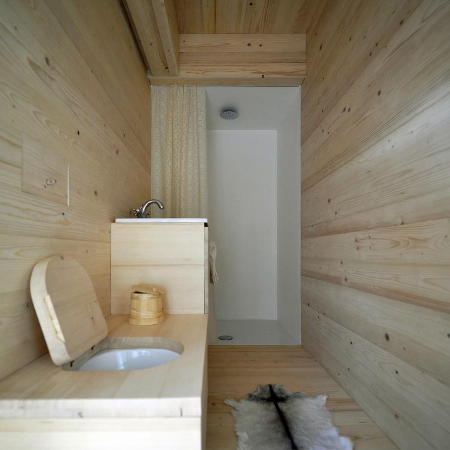 Alpine Barn Apartment from OFIS Architects - Bathroom 2