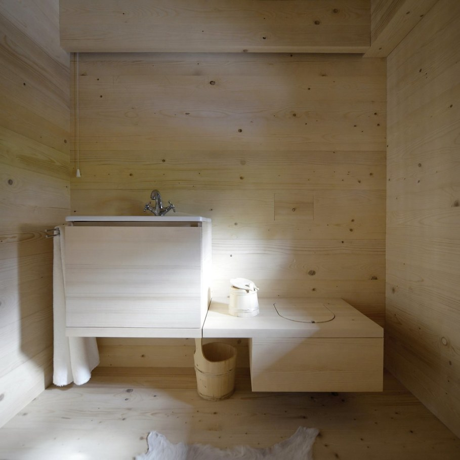 Alpine Barn Apartment from OFIS Architects - Bathroom