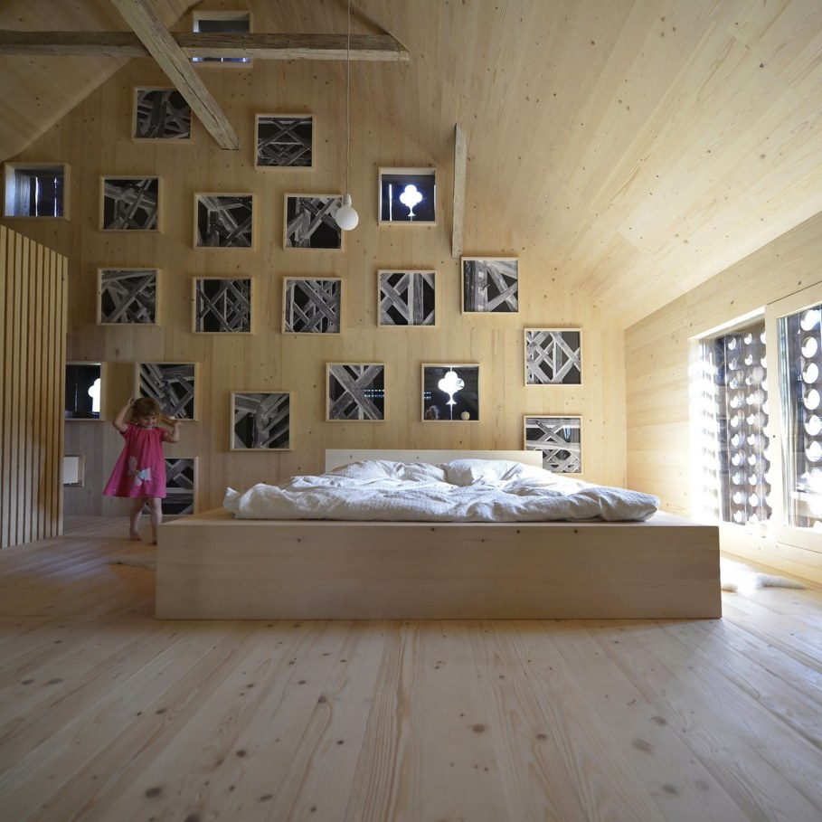 Alpine Barn Apartment from OFIS Architects - Bedroom 3
