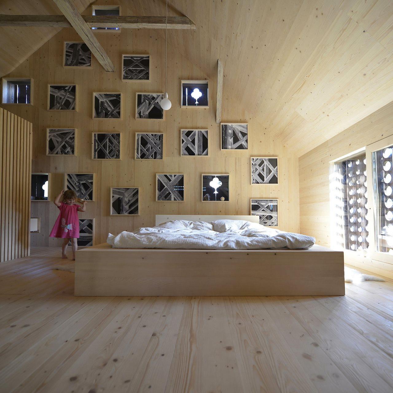 barn loft apartment alpine barn apartment from ofis architects