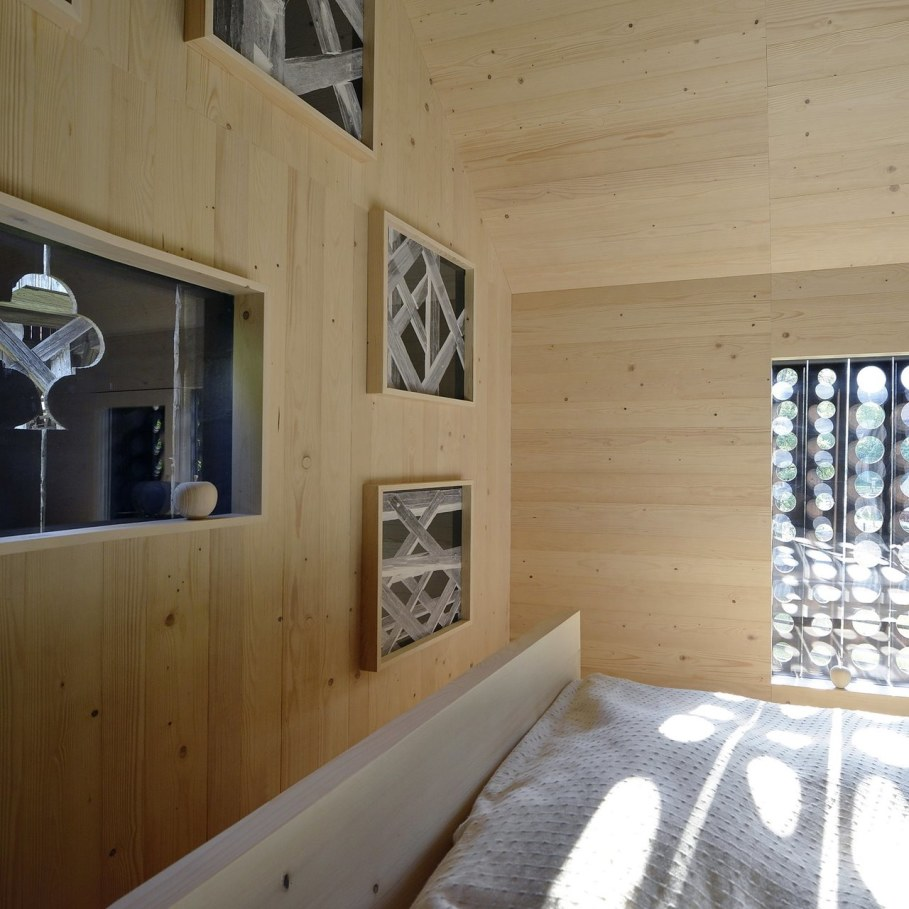 Alpine Barn Apartment from OFIS Architects - Bedroom 5