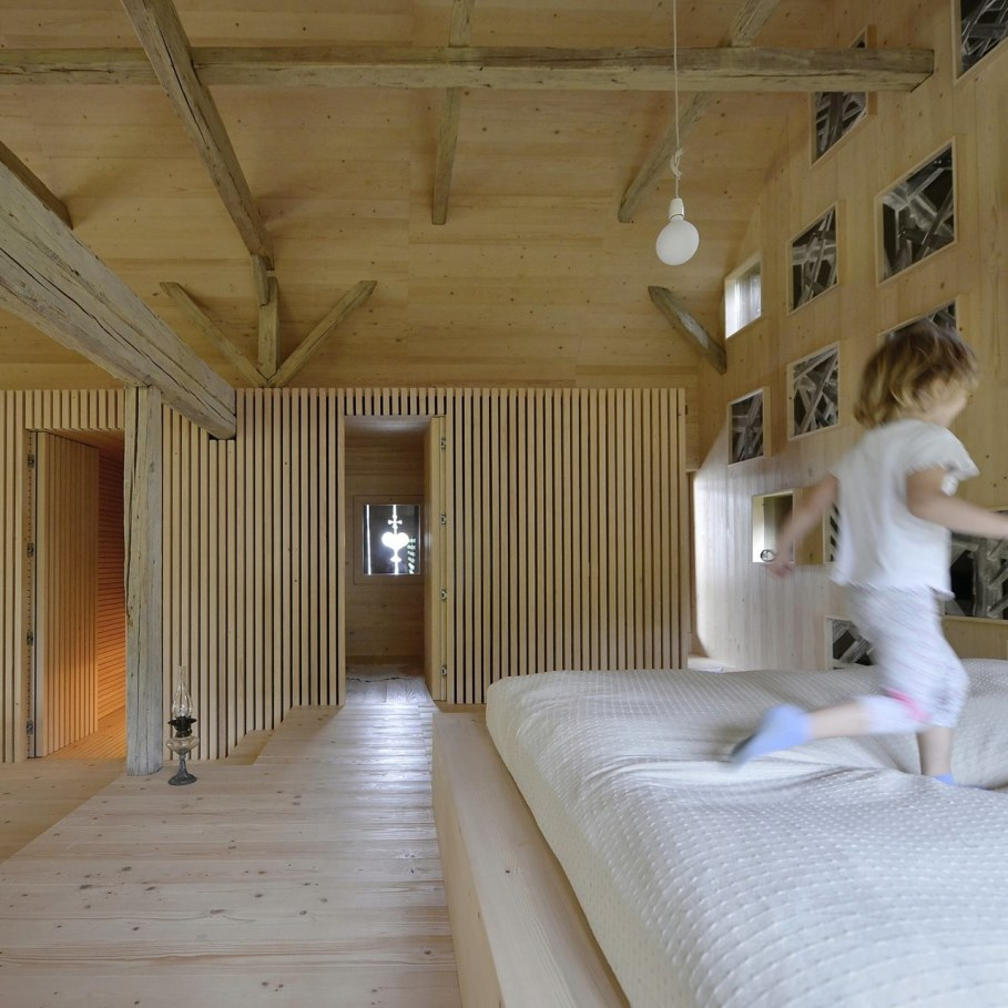Alpine Barn Apartment from OFIS Architects - Bedroom 6
