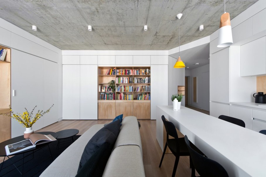 Apartment In Vilnius from Normundas Vilkas - Living room and dining table