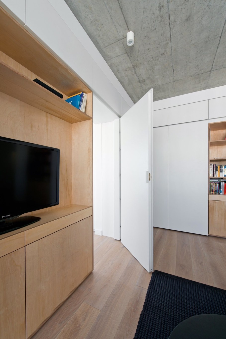 Apartment In Vilnius from Normundas Vilkas - White doors