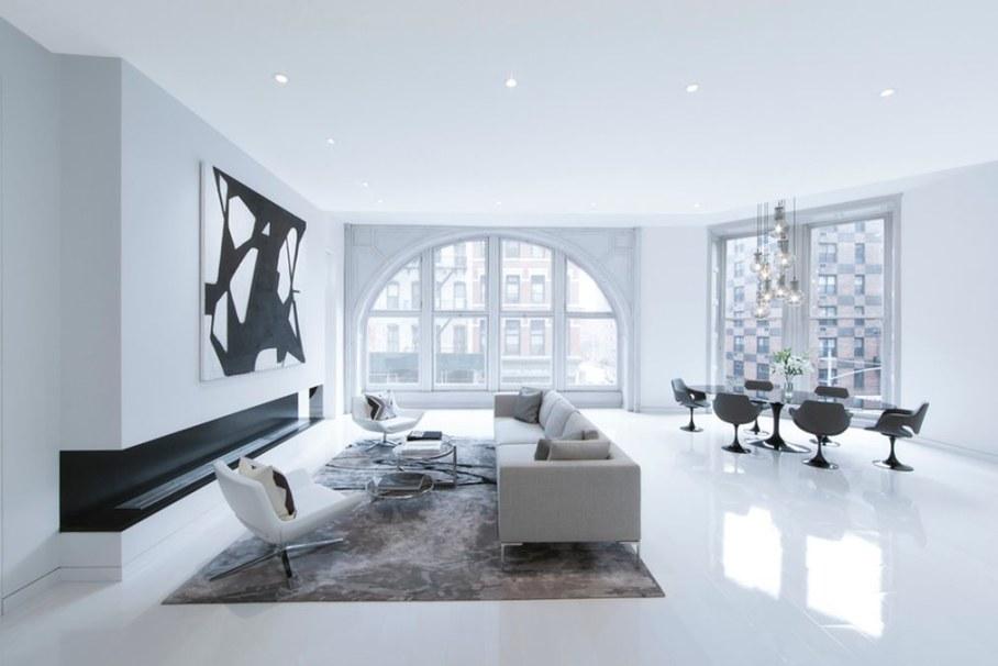 Bleecker Street Loft - Living room