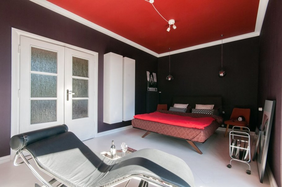 Bright and stylish interior of the apartment in Warsaw - Bedroom 2