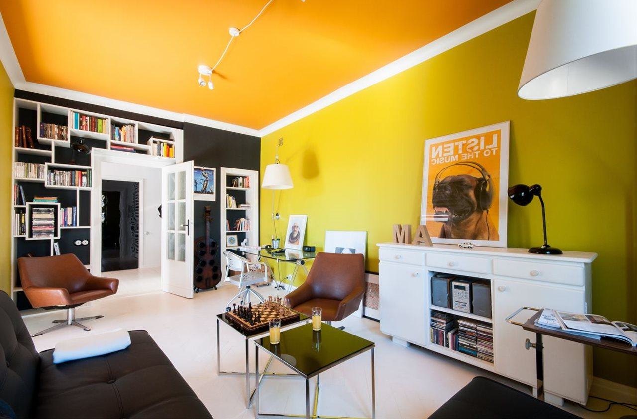Bright And Stylish Interior Of