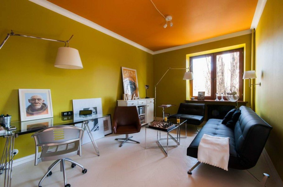 Bright and stylish interior of the apartment in Warsaw - Place to relax