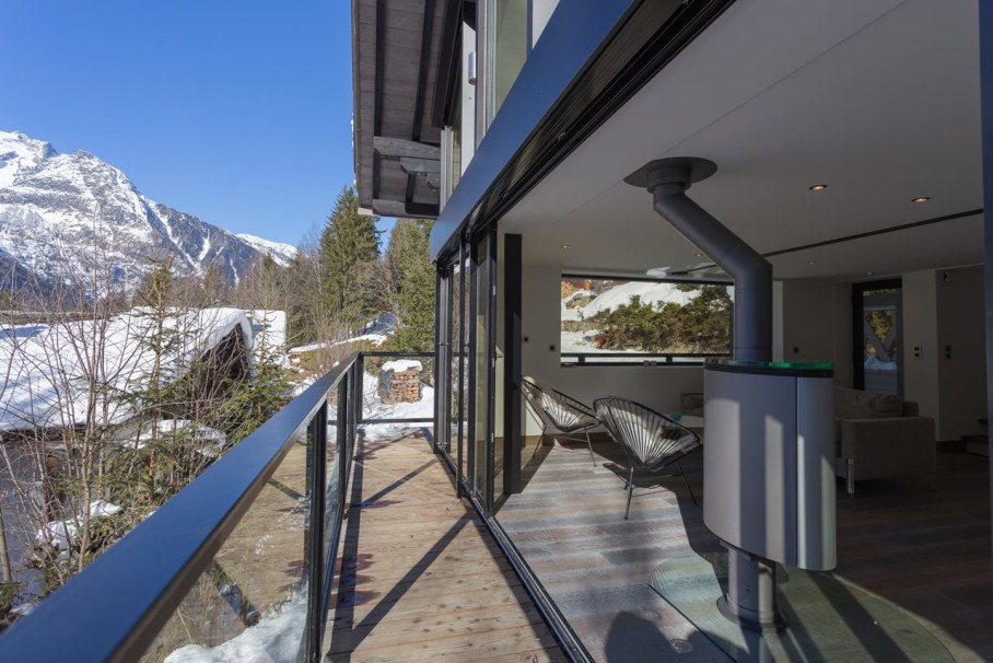 Chalet Dag in Chamonix - Large windows