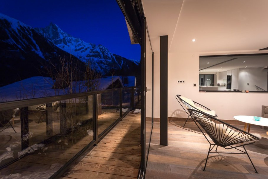 Chalet Dag in Chamonix - Living room
