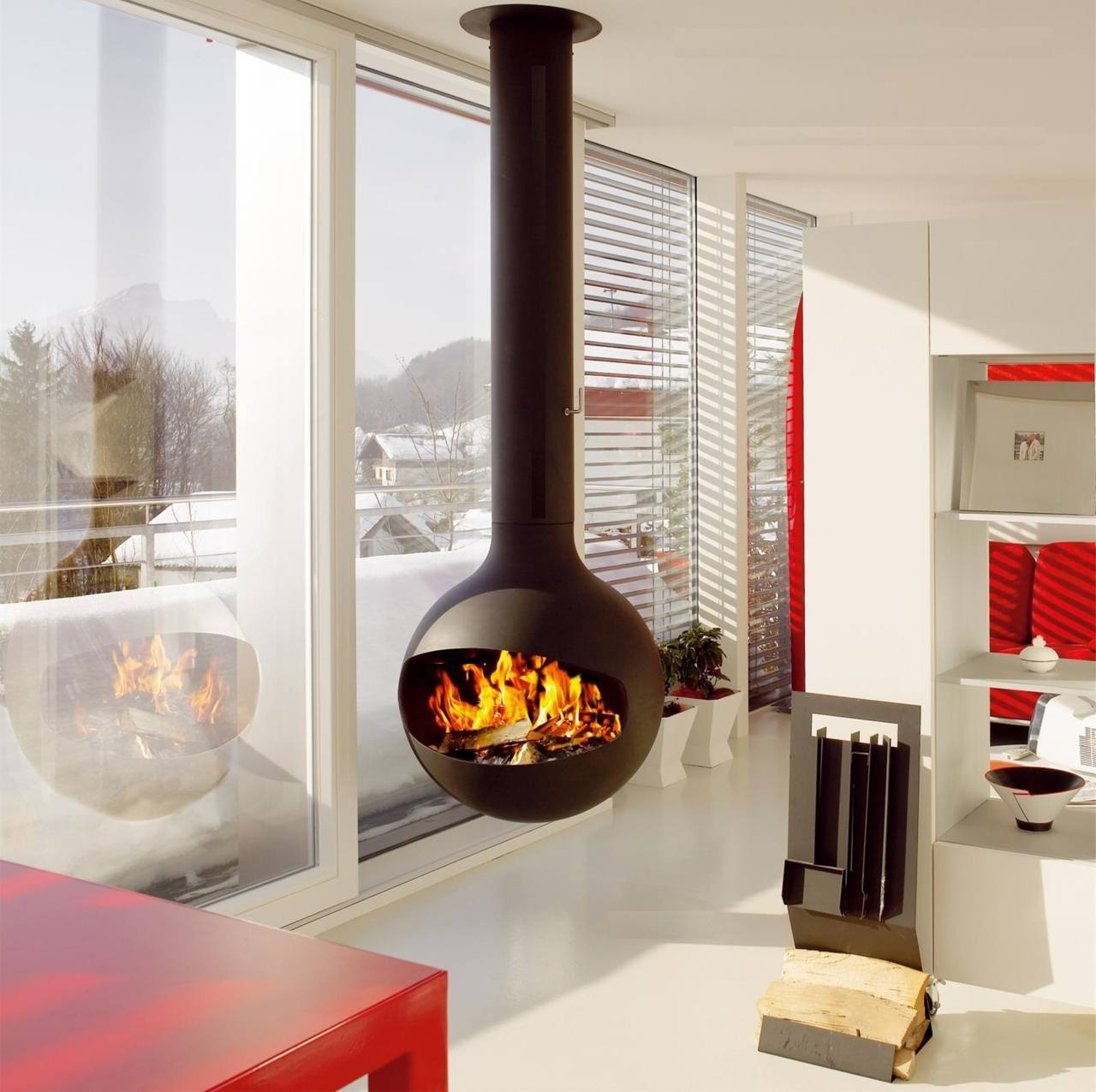 10 Inspiring Examples Of Fireplace Decoration