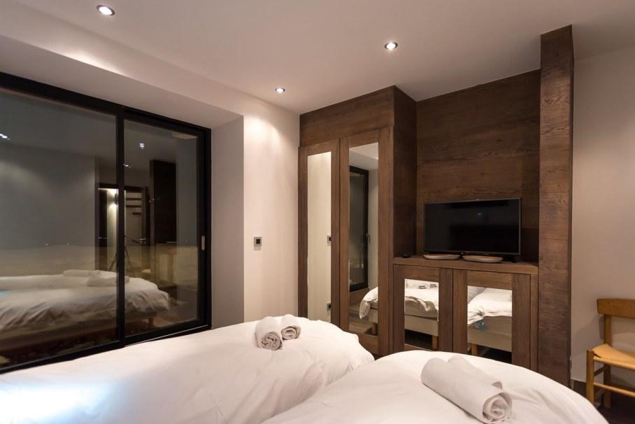 Dag Chalet In France - Bedroom twin