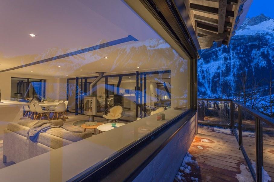 Dag Chalet - Living room