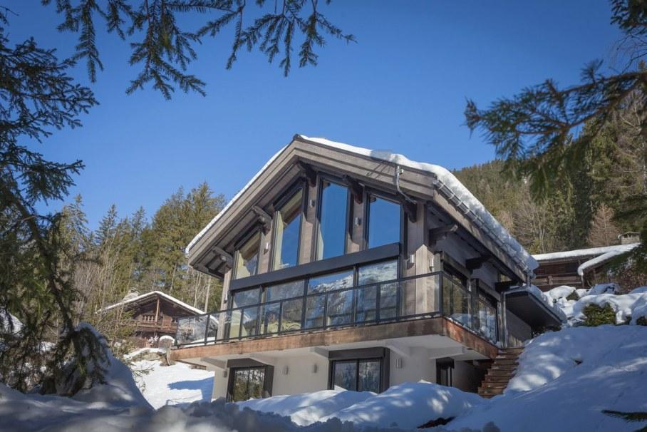 Dag Cottage - design by Chevallier Architectes - Facade