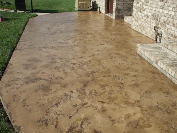 Decorative Concrete Base : Decorative concrete is an elegant manufacture