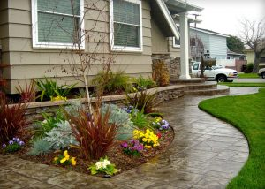 Decorative concrete forms