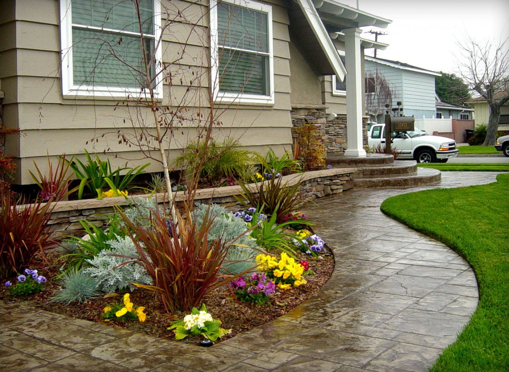 Decorative concrete is an elegant manufacture for Form landscaping