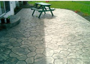 Decorative concrete stencils