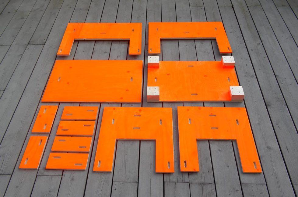 Easy to Pack Furniture from Zieta studio - PAKIET 32