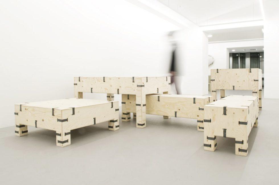 Easy to Pack Furniture from Zieta studio - PAKIET 55